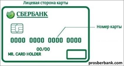 Реквизиты лицевого счета в сбербанке