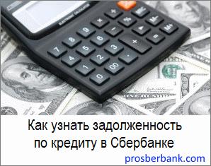 Бланк на кредит в сбербанке
