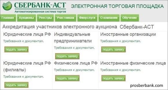 электронный аукцион сбербанк аст инструкция - фото 8