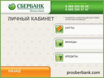 Как узнать реквизиты карты сбербанка через банкомат инструкция