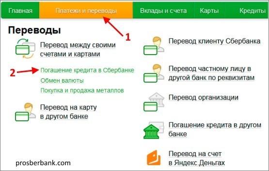 Сбербанк онлайн оплата кредита по карте как получить сельхоз кредиты