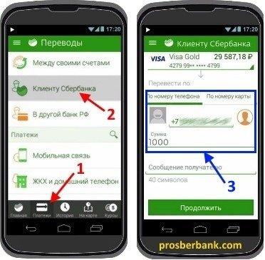 как перевести деньги на карту по номеру телефона через сбербанк онлайн видеокиви займ до 5000 рублей без отказа